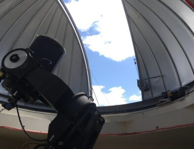 The Land Between The Lakes Golden Pond Planetarium and Observatory Telescope