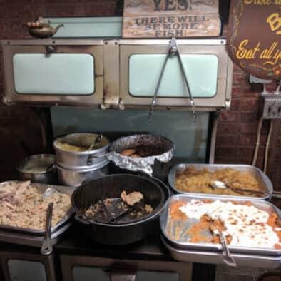Dinner Bell Restaurant Food