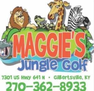 Maggie's Jungle Golf Logo