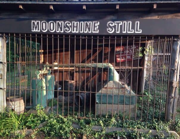 The Hitching Post and Old Country Store Moonshine Still